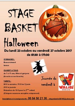 STAGE BASKET HALLOWEEN