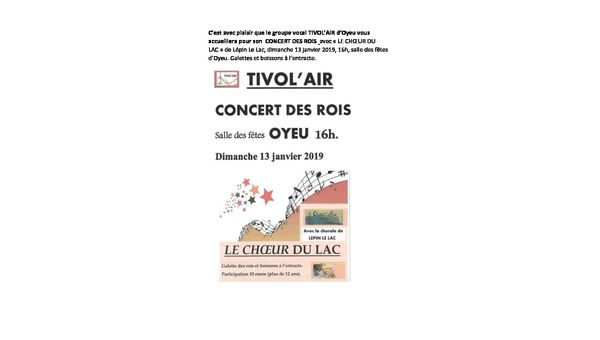 concert Tivol'Air